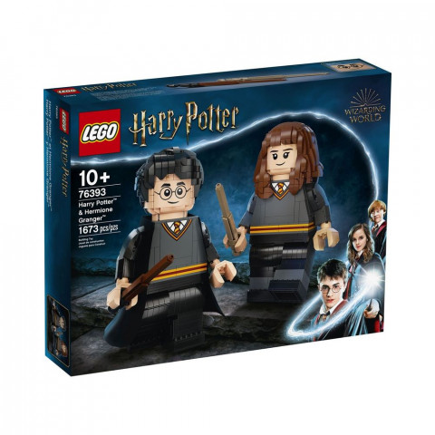 LEGO® Harry Potter™ 76393 Harry Potter & Hermione Granger™, Age 10+, Building Blocks, 2021 (1673pcs)