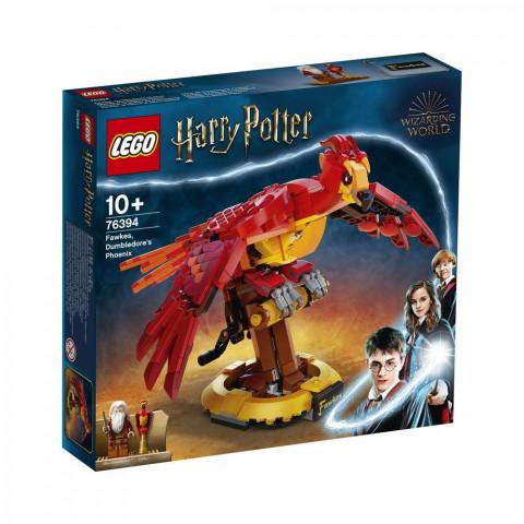 LEGO® Harry Potter™ 76394 Fawkes, Dumbledore's Phoenix, Age 10+, Building Blocks, 2021 (597pcs)