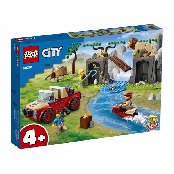 LEGO® City Wildlife 60301 Wildlife Rescue Off-Roader, Age 4+, Building Blocks, 2021 (157pcs)
