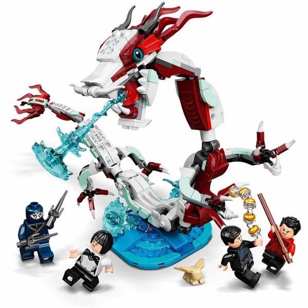 LEGO® Super Heroes 76177 Battle at the Ancient Village, Age 8+, Building Blocks, 2021 (400pcs)