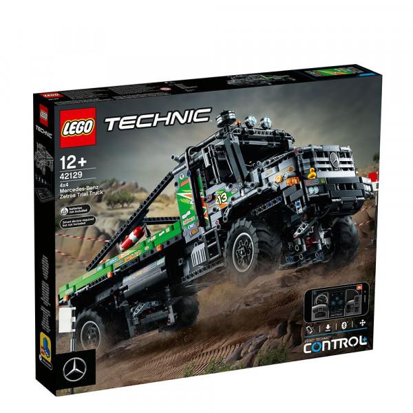 LEGO® Technic 42129 4x4 Mercedes-Benz Zetros Trial Truck, Age 12+, Building Blocks, 2021 (2110pcs)