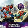 LEGO® Super Heroes 76194 Tony Stark's Sakaarian Iron Man, Age 8+, Building Blocks, 2021 (369pcs)