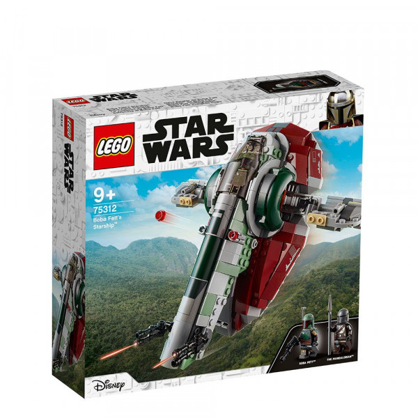 LEGO® Star Wars™ 75312 Boba Fett's Starship™, Age 9+, Building Blocks, 2021 (593pcs)