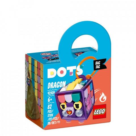 LEGO® DOTS 41939 Bag Tag Dragon, Age 6+, Building Blocks, 2021 (82pcs)