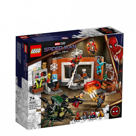 LEGO® Super Heroes 76185 Spider-Man at the Sanctum Workshop, Age 7+, Building Blocks, 2021 (355pcs)