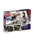 LEGO® Super Heroes 76195 Spider-Man's Drone Duel, Age 7+, Building Blocks, 2021 (198pcs)