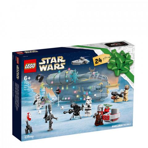 LEGO® Star Wars™ 75307 Advent Calendar, Age 6+, Building Blocks, 2021 (335pcs)