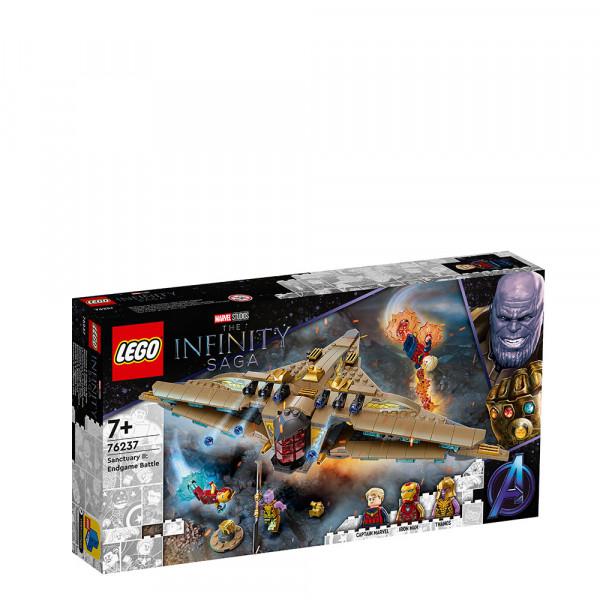 LEGO® Super Heroes 76237 Sanctuary II: Endgame Battle, Age 7+, Building Blocks, 2021 (322pcs)