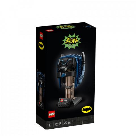 LEGO® Super Heroes 76238 Classic TV Series Batman™ Cowl, Age 18+, Building Blocks, 2021 (372pcs)
