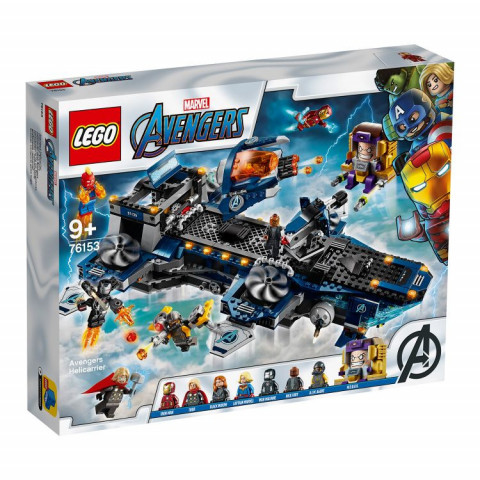 LEGO® Super Heroes 76153 Avengers Helicarrier, Age 9+, Building Blocks, 2020 (1244pcs)