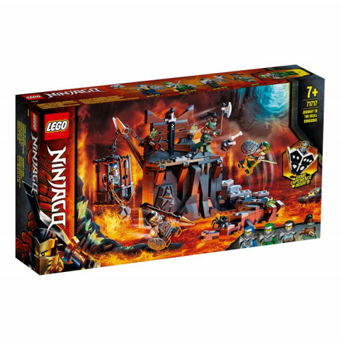 LEGO® Ninjago® 71717 Journey to the Skull Dungeons, Age 7+, Building Blocks, 2020 (401pcs)