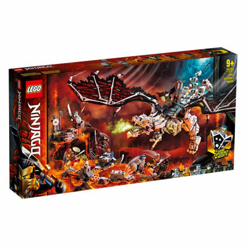 LEGO® Ninjago® 71721 Skull Sorcerer's Dragon, Age 9+, Building Blocks, 2020 (1016pcs)