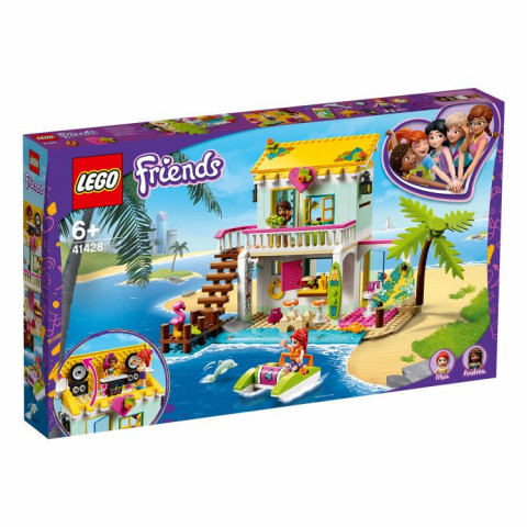 LEGO® Friends 41428 Beach House, Age 6+, Building Blocks, 2020 (444pcs)