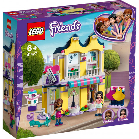 LEGO® Friends 41427 Emma's Fashion Shop, Age 6+, Building Blocks, 2020 (343pcs)