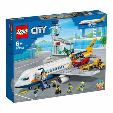LEGO® City 60262 Passenger Airplane, Age 6+, Building Blocks, 2020 (669pcs)