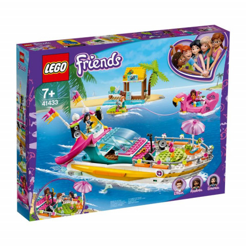 LEGO® Friends 41433 Party Boat, Age 7+, Building Blocks, 2020 (640pcs)