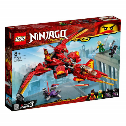 LEGO® Ninjago® 71704 Kai Fighter, Age 8+, Building Blocks, 2020 (513pcs)