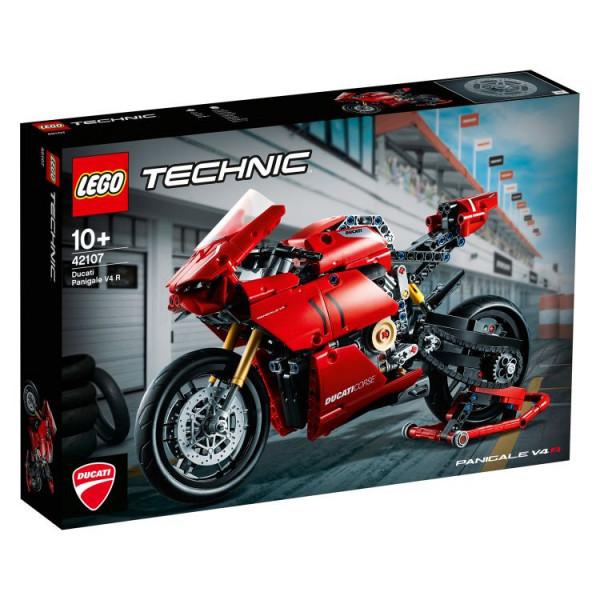 LEGO® Technic 42107 Ducati Panigale V4 R, Age 10+, Building Blocks, 2020 (646pcs)