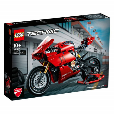 LEGO® Technic 42107 Ducati Panigale V4 R, Age 10+, Building Blocks, 2020 (646pcs)