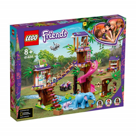 LEGO® Friends 41424 Jungle Rescue Base, Age 8+, Building Blocks, 2020 (648pcs)
