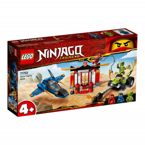 LEGO® Ninjago® 71703 Storm Fighter Battle, Age 4+, Building Blocks, 2020 (165pcs)