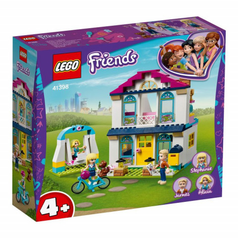 LEGO® Friends 41398 Stephanie's House, Age 4+, Building Blocks, 2020 (170pcs)