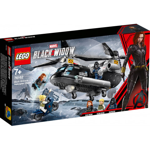 LEGO® Super Heroes 76162 Black Widow's Helicopter Chase, Age 7+, Building Blocks, 2020 (271pcs)