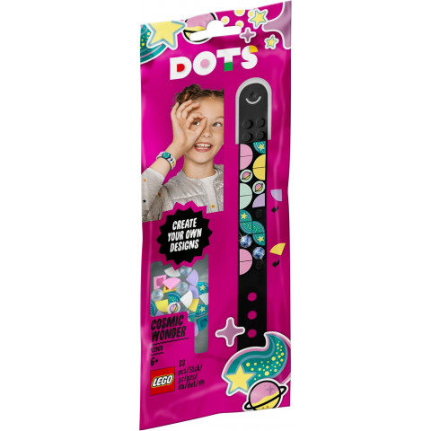 LEGO® DOTS 41903 Cosmic Wonder Bracelet, Age 6+, Building Blocks, 2020 (33pcs)