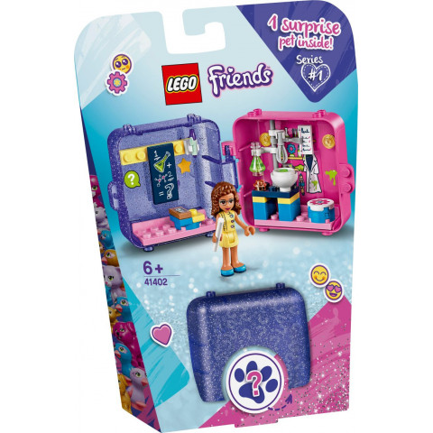 LEGO® Friends 41402 Olivia's Play Cube, Age 6+, Building Blocks, 2020 (40pcs)
