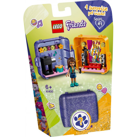 LEGO® Friends 41400 Andrea's Play Cube, Age 6+, Building Blocks, 2020 (49pcs)