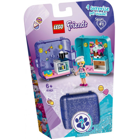 LEGO® Friends 41401 Stephanie's Play Cube, Age 6+, Building Blocks, 2020 (44pcs)