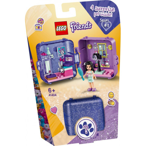 LEGO® Friends 41404 Emma's Play Cube, Age 6+, Building Blocks, 2020 (36pcs)