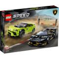 LEGO® Speed Champions 76899 Lamborghini Urus ST-X & Lamborghini Hura, Age 8+, Building Blocks, 2020 (663pcs)