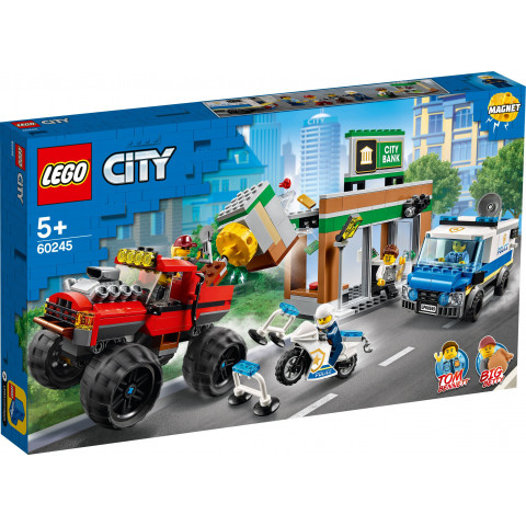 LEGO® City 60245 Police Monster Truck Heist, Age 5+, Building Blocks, 2020 (362pcs)