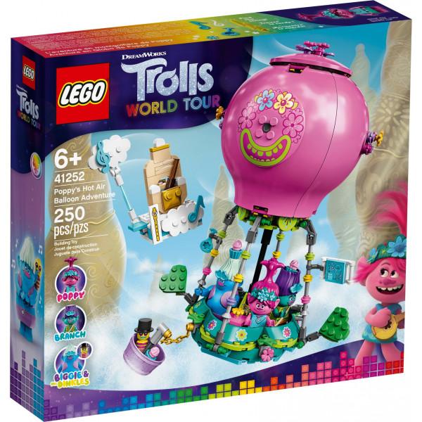 LEGO® Trolls 41252 Poppy's Hot Air Balloon Adventure, Age 6+, Building Blocks, 2020 (250pcs)