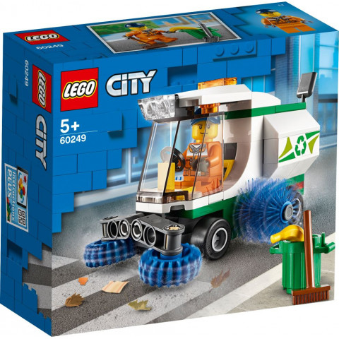 LEGO® City 60249 Street Sweeper, Age 5+, Building Blocks, 2020 (89pcs)