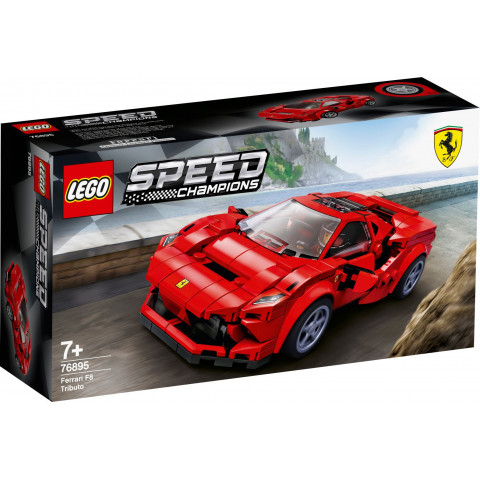 LEGO® Speed Champions 76895 Ferrari F8 Tributo, Age 7+, Building Blocks, 2020 (275pcs)