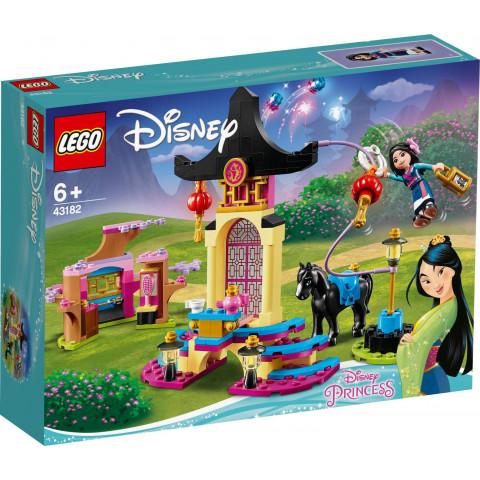 LEGO® Disney Princess 43182 Mulan's Training Grounds, Age 6+, Building Blocks, 2020 (157pcs)