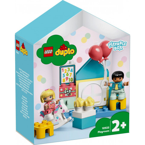 LEGO® DUPLO® Town 10925 Playroom, Age 2+, Building Blocks, 2020 (17pcs)