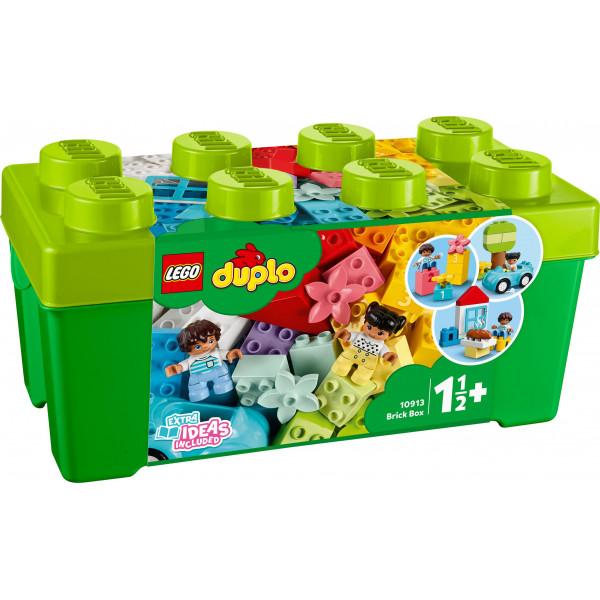 LEGO® DUPLO® Classic 10913 Brick Box, Age 1½+, Building Blocks, 2020 (65pcs)