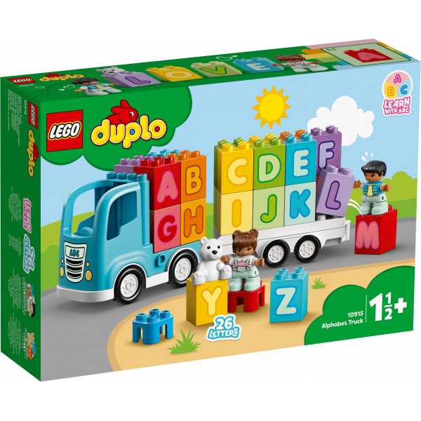 LEGO® DUPLO® My First 10915 Alphabet Truck, Age 1½+, Building Blocks, 2020 (36pcs)