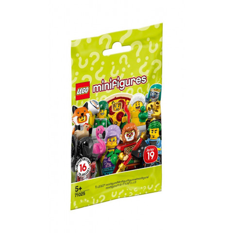 LEGO® Minifigures 71025 Series 19, Age 5+, Building Blocks (8pcs)