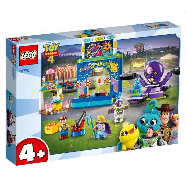 LEGO® Toy Story™ 10770 Buzz & Woody's Carnival Mania!, Age 4+, Building Blocks (230pcs)