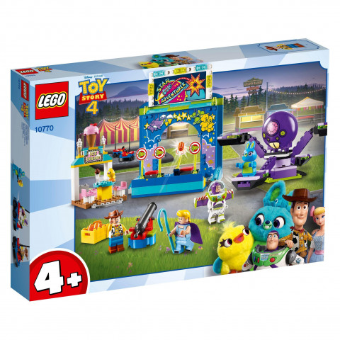 LEGO® Toy Story™ 10770 Buzz & Woody's Carnival Mania!, Age 4+, Building Blocks (230pcs)