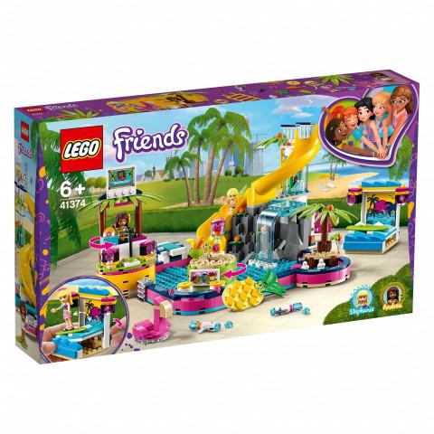 LEGO® Friends 41374 Andrea's Pool Party, Age 6+, Building Blocks (468pcs)