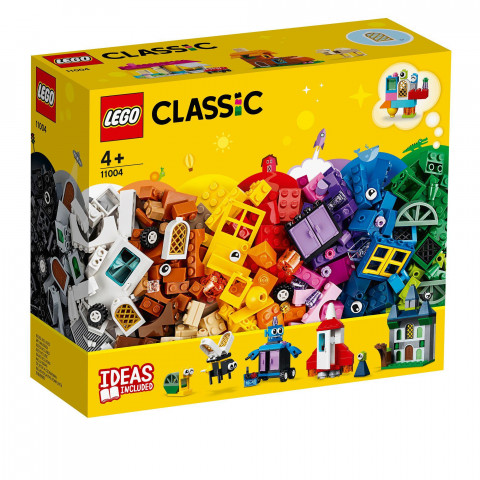 LEGO® Classic 11004 Windows of Creativity, Age 4+, Building Blocks (450pcs)