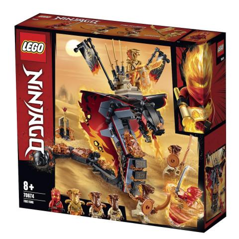 LEGO® Ninjago® 70674 Fire Fang, Age 8+, Building Blocks (463pcs)