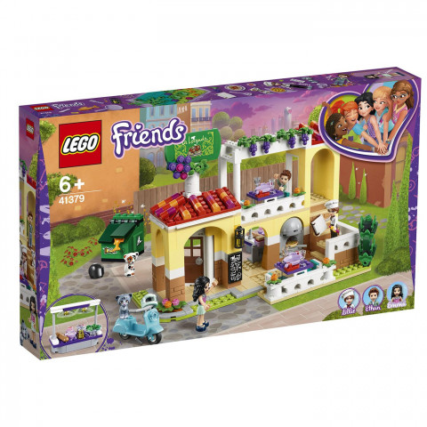 LEGO® Friends 41379 Heartlake City Restaurant, Age 6+, Building Blocks (624pcs)