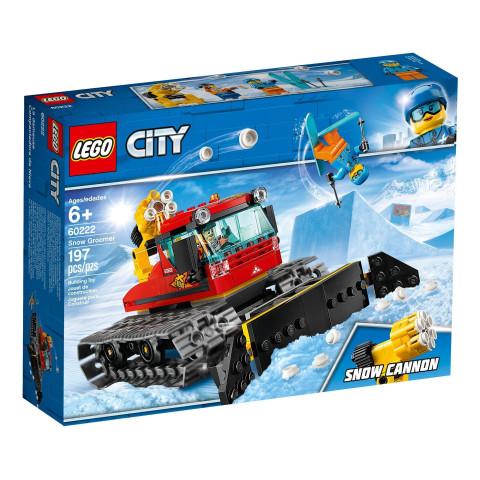 LEGO® City 60222 Snow Groomer, Age 6+, Building Blocks (197pcs)