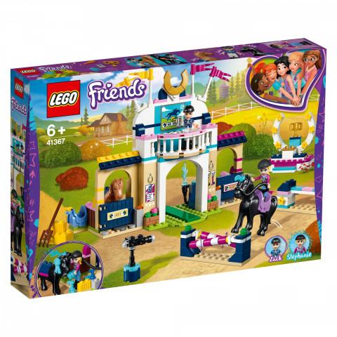LEGO® Friends 41367 Stephanie's Horse Jumping, Age 6+, Building Blocks (337pcs)